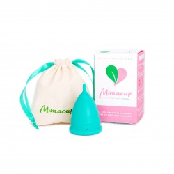 Copa Menstrual Mimacup - Turquesa