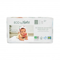 Pañales Eco by Naty - Talla 2 (3 - 6 kg) 33 und