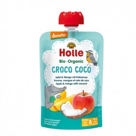Smoothie de Manzana, Mango y Coco, 100g, Holle