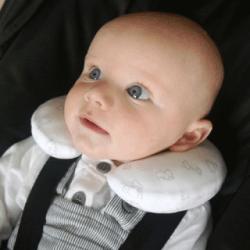 Almohadilla de soporte para el cuello del bebé