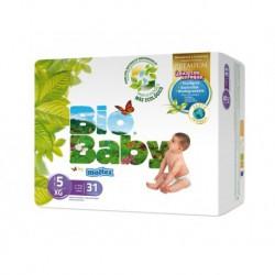 Pañales Bio Baby - Talla 5 (12-16kg) 31 uds. ECO
