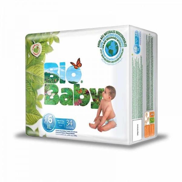7-10 kg Pa/ñales Bio Baby talla 3 34uds eco
