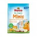 Barritas mini de plátano y naranja, 100g, Holle