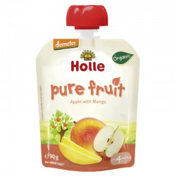 Smoothie de Manzana y Mango, 90g, Holle