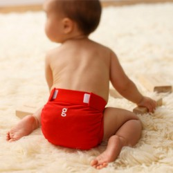Cobertor de pañal gPant de Rojo - gNappies