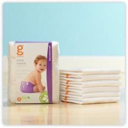 Absorbentes de tela lavables gCloth - gNappies